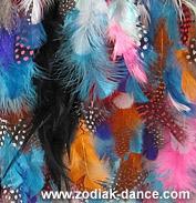 Райские перья в Салоне Зодиак