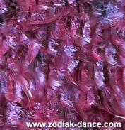 Перья на жоржете в Салоне Зодиак