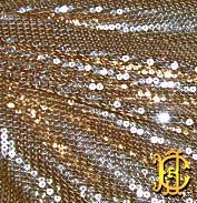 Sequin stretch net / Стрейчевая сетка с пайетками