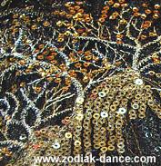 Красивейшая ткань для танцев в Салоне Зодиак