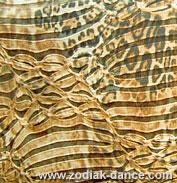 Стрейчевая ткань Восьмерки-леопард